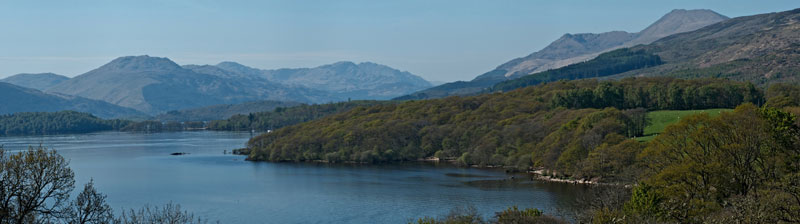 View towards Ben Lomond from Craigie Fort. © Dave Arcari
