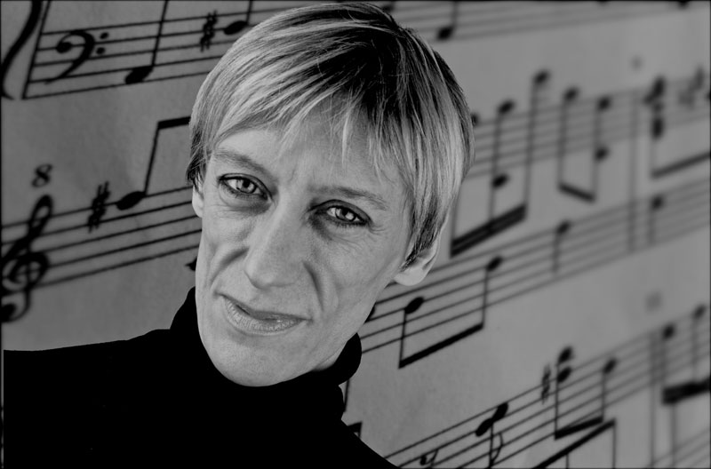 Magazine commission: composer Karen McIver. © Dave Arcari