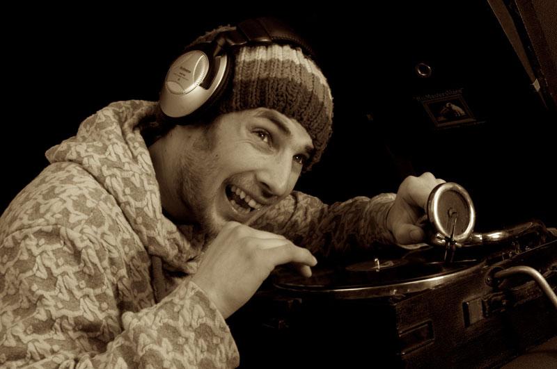 Promo pic: dubstep DJ Mikey Compton. © Dave Arcari